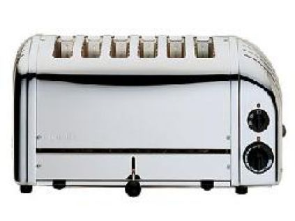 Dualit 6 Slot Bread Polished Toasters