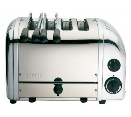 Dualit Combi 2 x 2 polished Toasters