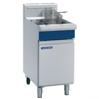 Blue Seal GT46 Freestanding Fryer Gas - Double Pan, Double Basket