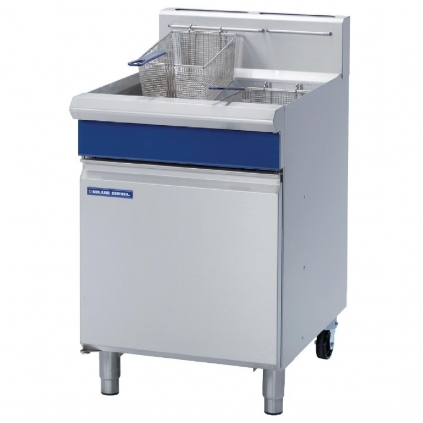 Blue Seal GT60 Commercial Fryers Gas Freestanding, Single Pan, Double Basket