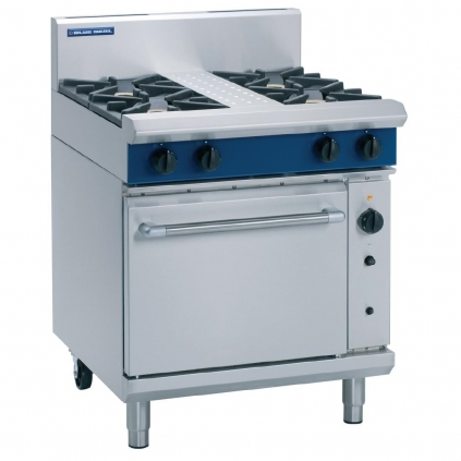 Blue Seal G54D Range 4 Burner Gas