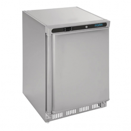 Polar Undercounter Fridge Stainless Steel 150Ltr
