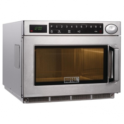 Buffalo Programmable Commercial Microwave Oven 1850W