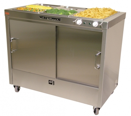 Caterlux Apollo 2 Hot Cupboard with Bain Marie
