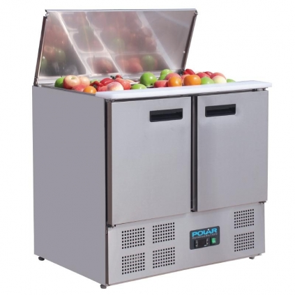 Polar Refrigerated Saladette Counter 240Ltr