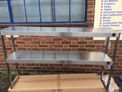 NEW - Double Tier Heated Gantry