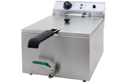 NEW - Electric Fryer 6 Litre with Drain Tap