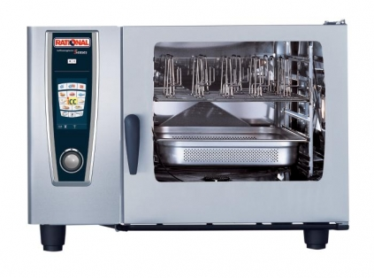 Rational SCC62 Gas Combination Ovens Gas