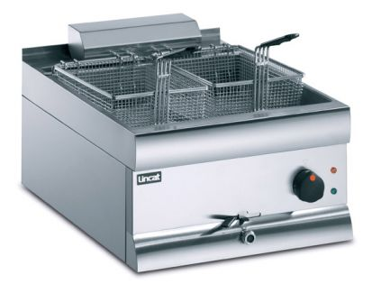 Lincat DF49 Table Top Fryer Electric -  Single Pan, Double Basket
