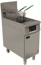 Falcon 400 Series G401 Commercial Fryers Gas Freestanding, Single Pan, Double Ba