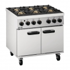 Lincat LMR9 Ranges 6 Burner Gas