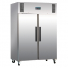 Polar Double Door Freezer Stainless Steel 1200Ltr