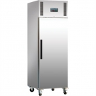 Polar Heavy Duty Single Door Freezer Stainless Steel 600Ltr