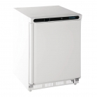 Polar Undercounter Freezer White 140 Ltr
