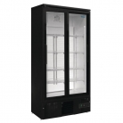 Polar Upright Back Bar Cooler Double Sliding Doors