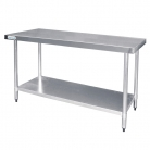 Vogue Stainless Steel Centre Table 1200mm