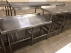 Dishwasher Stand with Undershelf - 1800mm