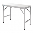 Vogue Stainless Steel Folding Table Large