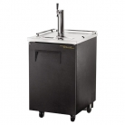 True 1 Door Direct Draw Beer Dispenser Black TDD-1