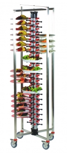 PLATEMATE Collapsible Mobile Banqueting Trolley - 3 Sizes Available
