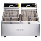 Buffalo Heavy Duty Double Tank Countertop Fryer 2 x 5Ltr