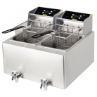 Buffalo Double Tank Countertop Fryer 2x8Ltr