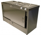 Caterlux Apollo 4 Hot Cupboard with Bain Marie