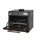 Pira 70 Lux Charcoal Oven Black
