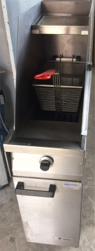 Falcon Dominator G1830 Fryer Nat Gas with Side Splash Back
