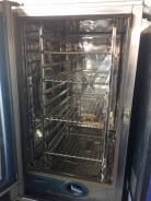 Rational SCC101 Electric Combination Oven On Stand