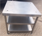 Low Table/Stand with 2 Undershelves - 760mm