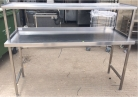 Wall Bench with Overshelf - 1800mm