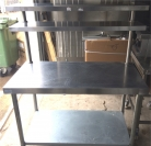 Centre Bench with Overshelves - 1200mm