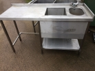 Dual Bowl Wash Station - 1460mm