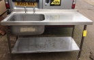 Single Bowl Sink, R/H Drainer - 1500mm
